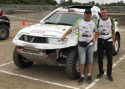 Jeep Clube SB no Dakar 2018