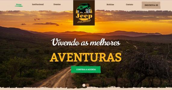 Novo website do Jeep Clube São Bento