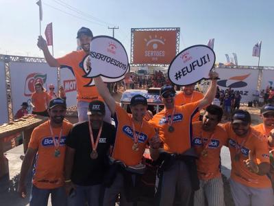 Idali Bosse é campeão do Rally dos Sertões